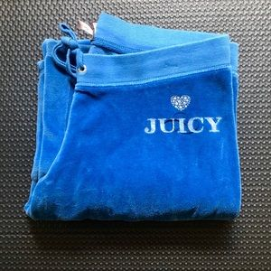 Juicy Couture Velour Wide Leg Pants Original M